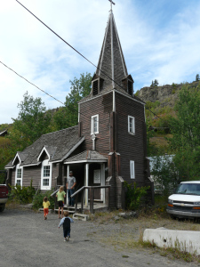 St. Aidan's Anglican church in old town, always open to the public