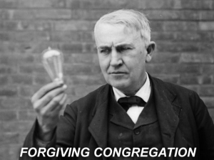 X FORGIVING CONGREGATION