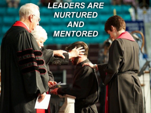 X LEADERS ARE NURTURED AND MENTORED
