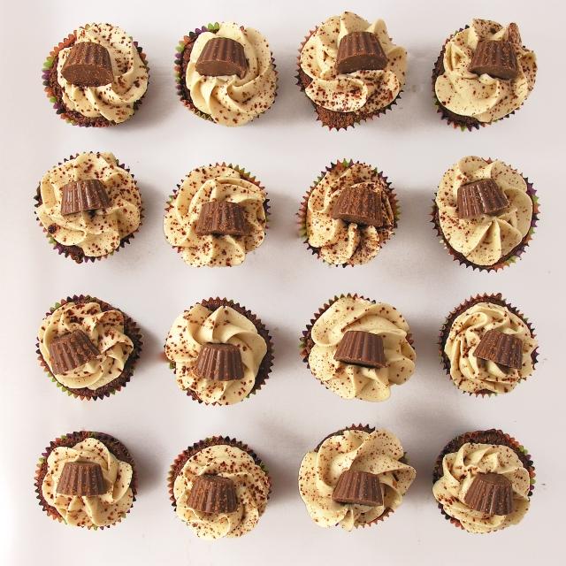Peanut Butter Fudge Cupcakes!!!